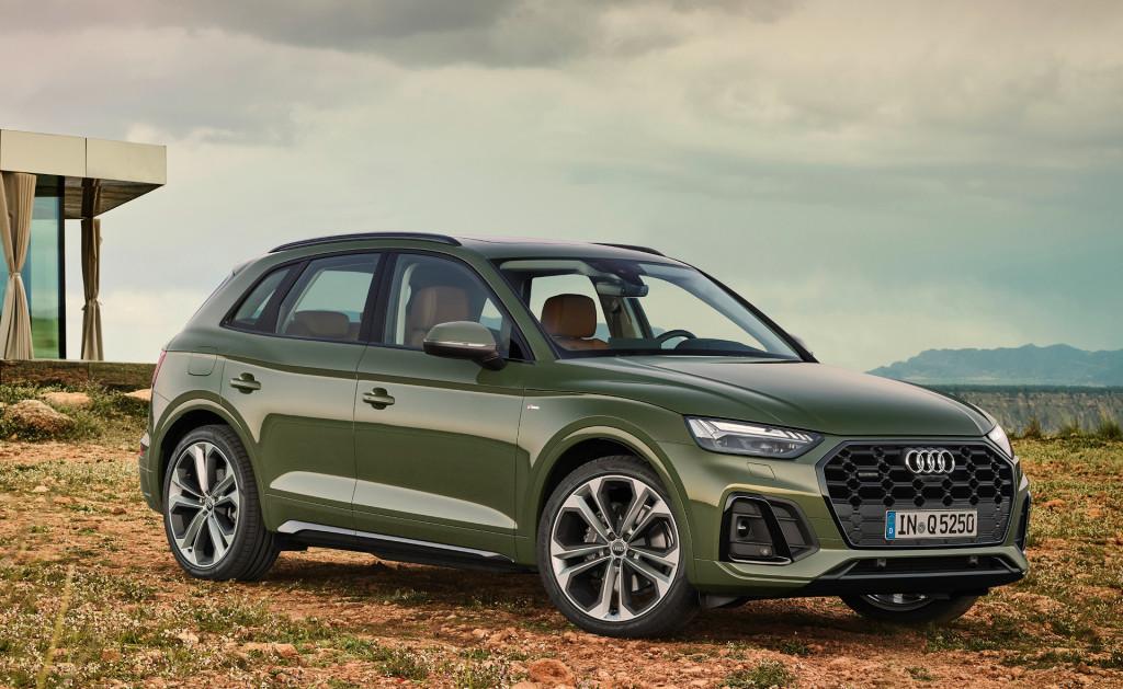 Audi Q5 aangepast voor modeljaar 2021