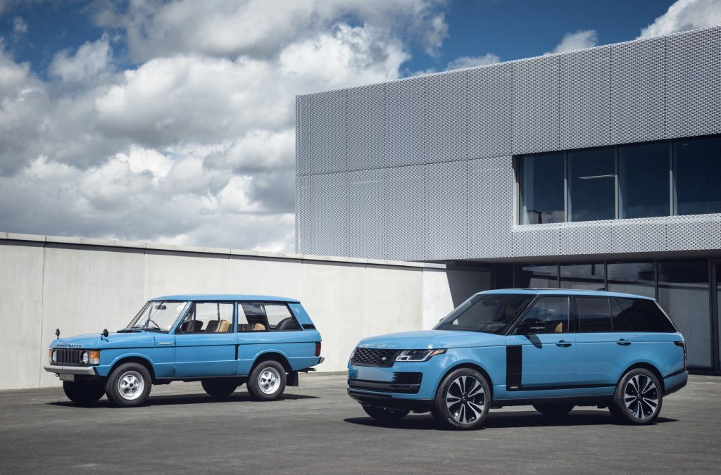 Range Rover nu als Fifty Edition