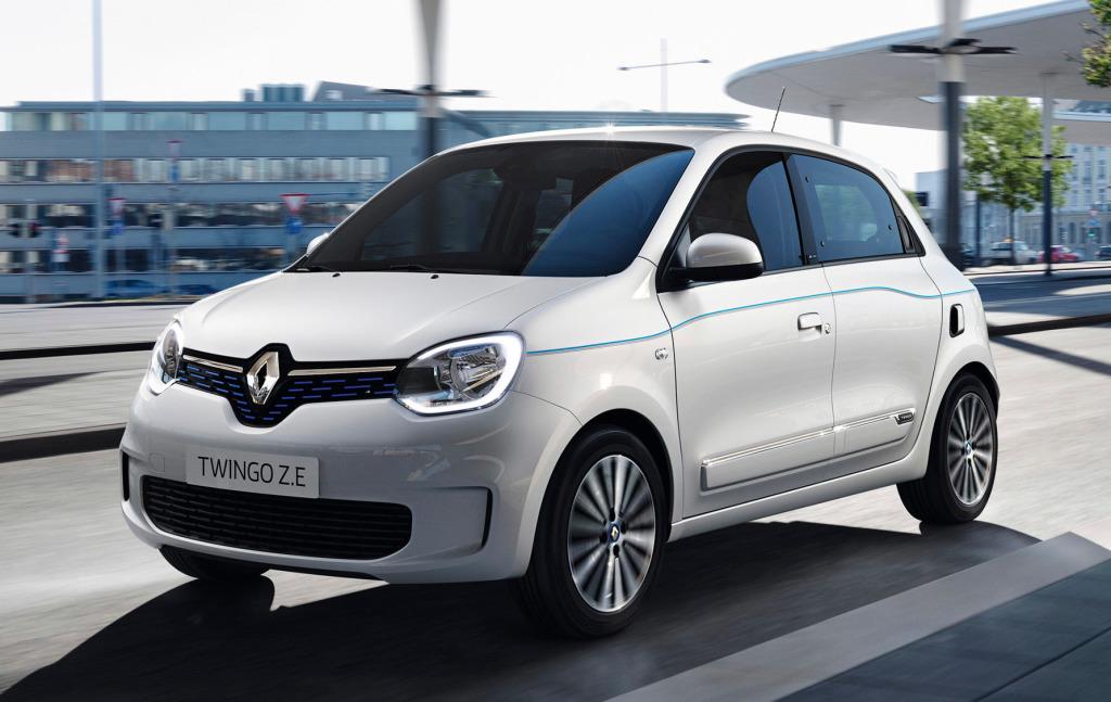 Renault maakt prijzen Twingo Electric bekend