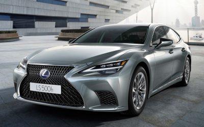 Lexus LS vernieuwd voor modeljaar 2021