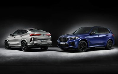 BMW X5 en X6 als M Competition First Edition