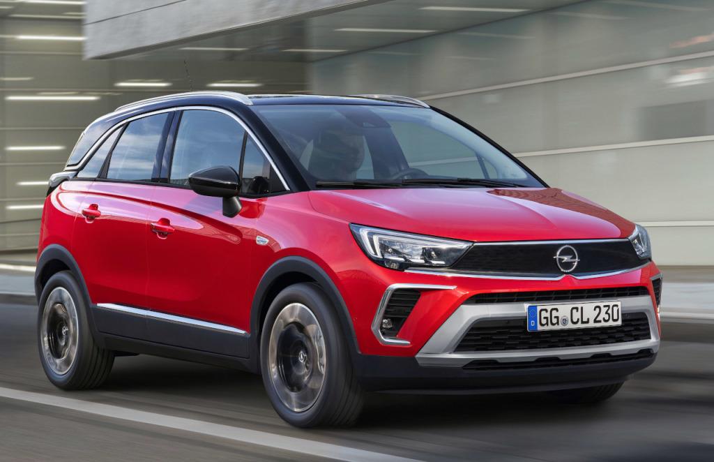 Vernieuwde Opel Crossland nu te bestellen