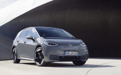 5 EuroNCAP sterren voor Volkswagen ID.3