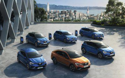 Renault introduceert 3 nieuwe e-tech hybridemodellen