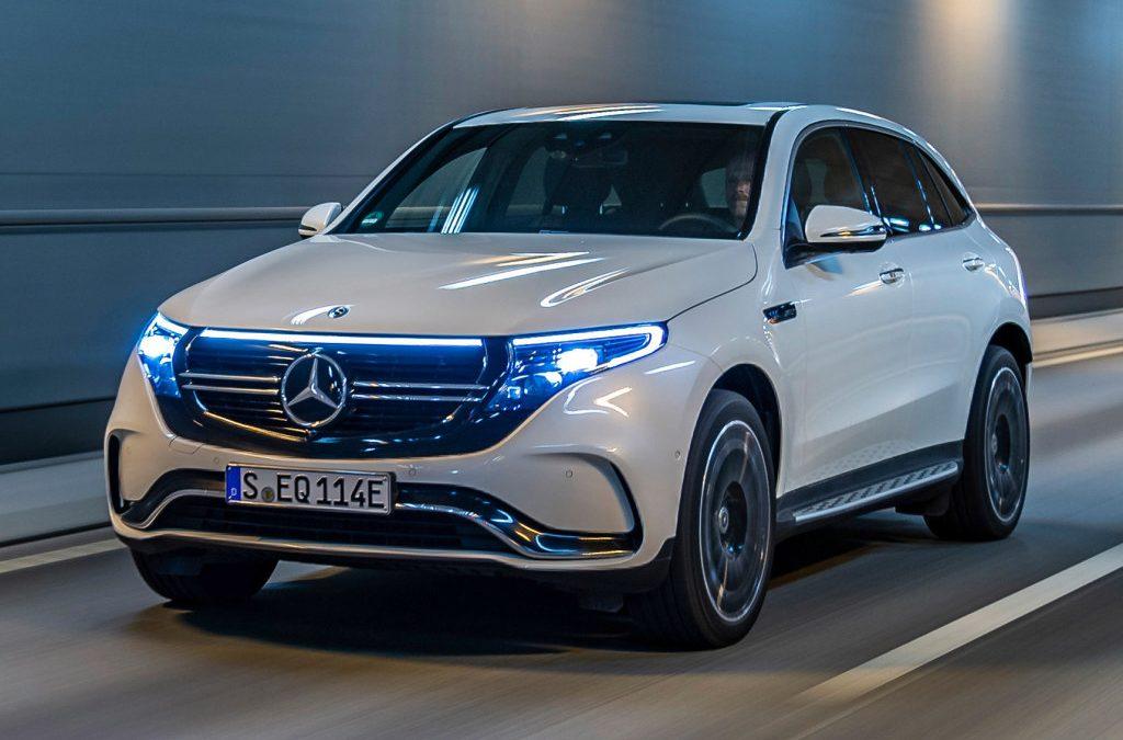 Mercedes-Benz verhoogt laadsnelheid EQC
