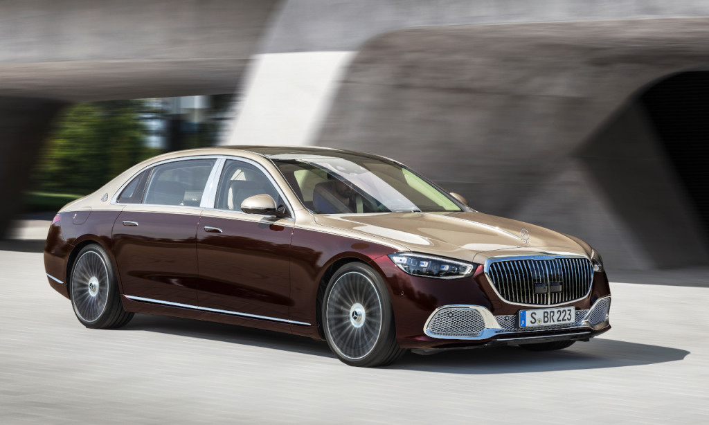 Mercedes-Maybach introduceert S-Klasse