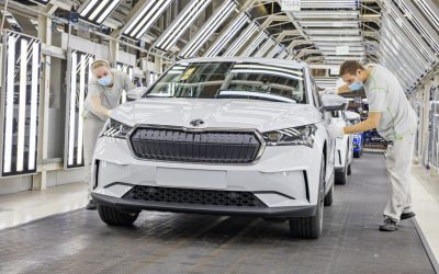 Skoda start productie ENYAQ iV