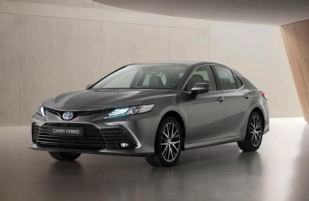 Toyota Camry vernieuwd voor modeljaar 2021