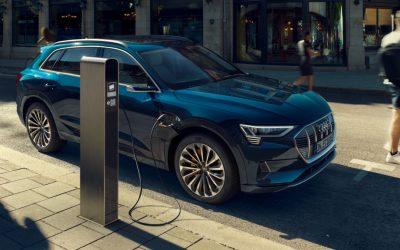 Audi verhoogt laadsnelheid e-tron