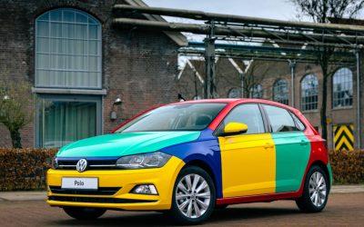 Volkswagen introduceert Polo Harlekin