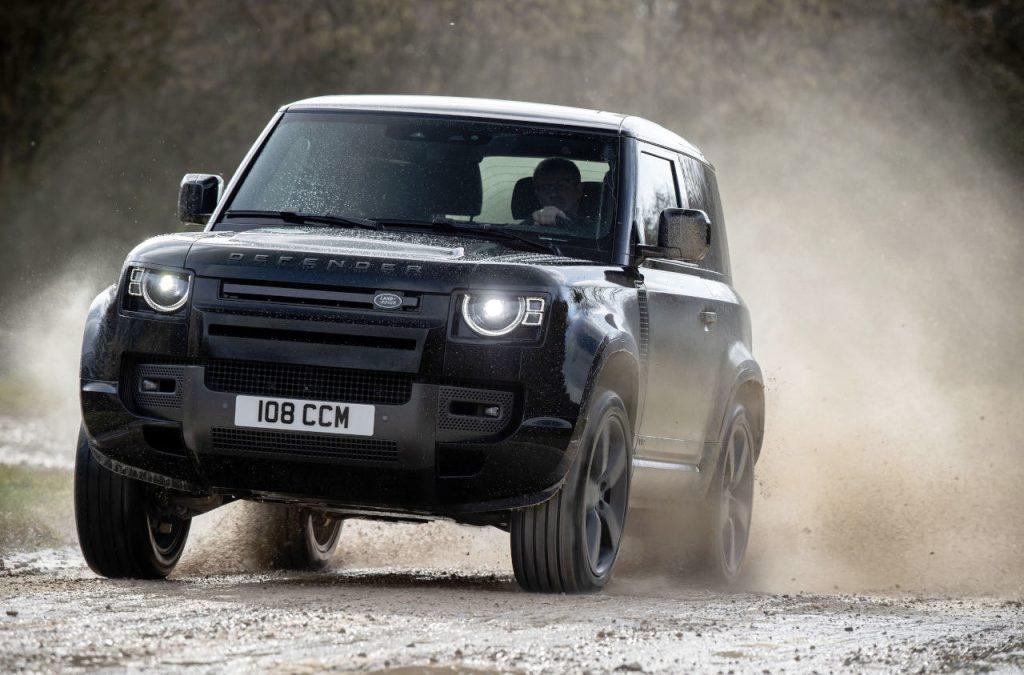 Land Rover Defender nu ook met V8