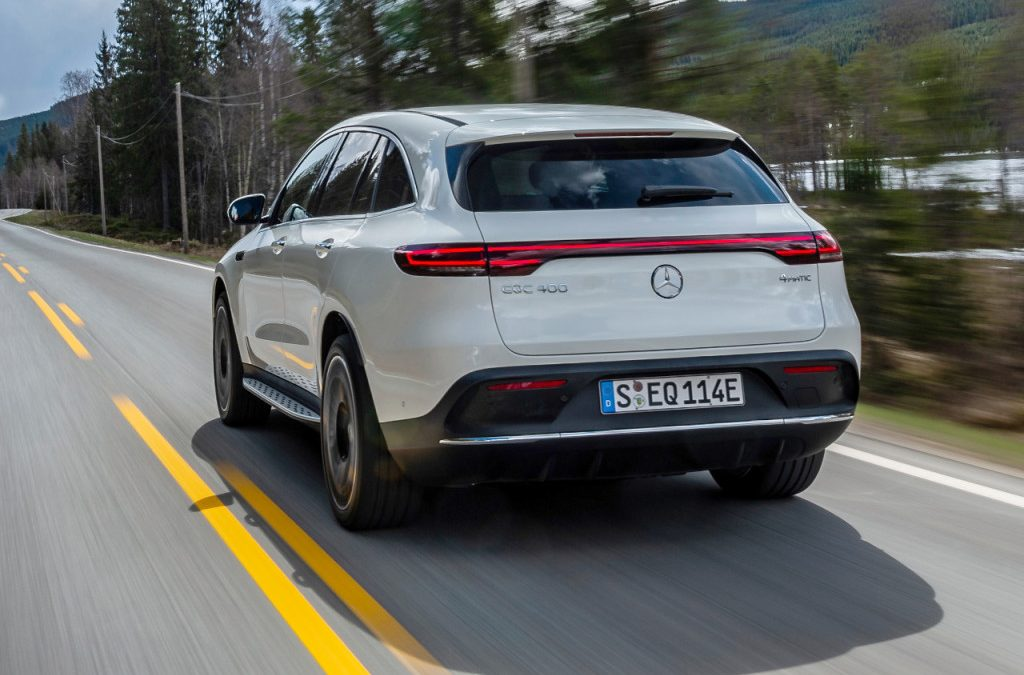 Mercedes-Benz EQC krijgt nieuwe uitvoeringen