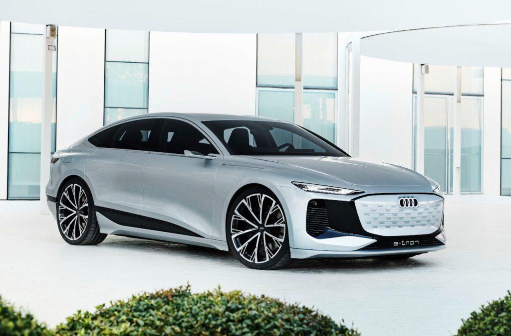 Audi toont A6 e-tron concept