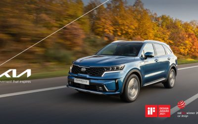 Kia Sorento wint Red Dot Award