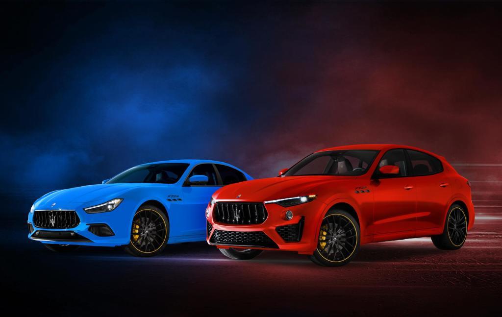 Maserati introduceert F Tributo Special Editions