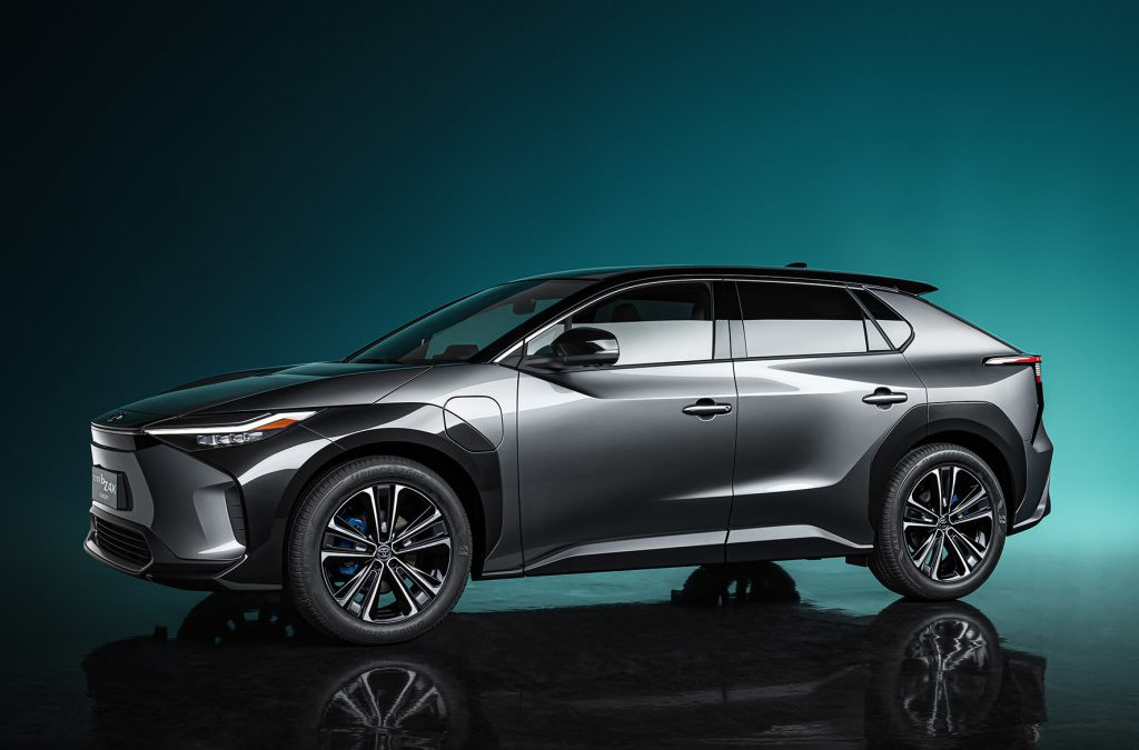 Toyota onthult bZ4X Concept