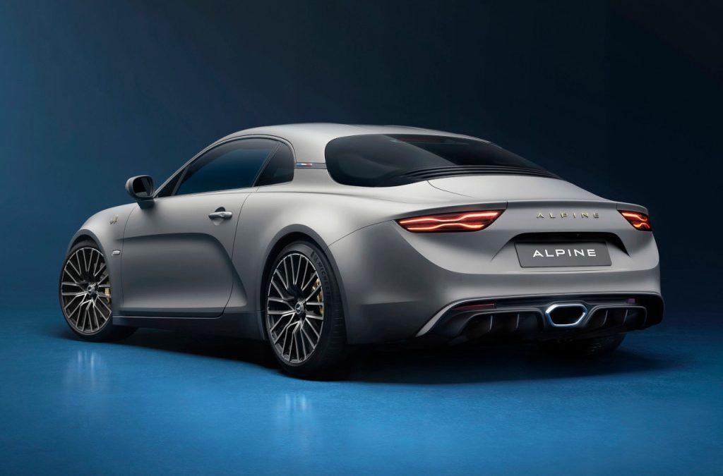 Alpine presenteert A110 Legende GT 2021