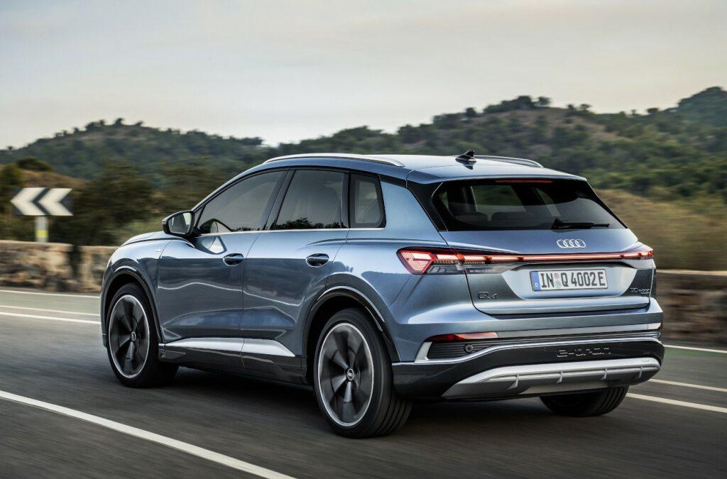 Audi Q4 nu ook als 50 e-tron