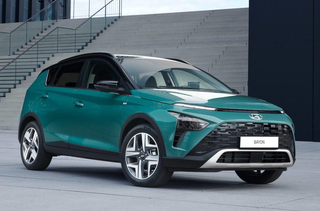 Hyundai prijst Bayon