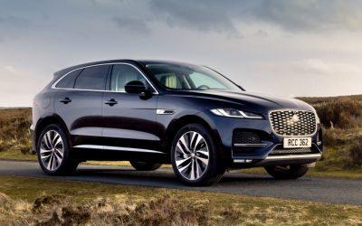 Jaguar F-PACE aangepast voor modeljaar 2022
