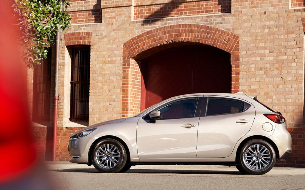 Mazda2 aangepast voor modeljaar 2022